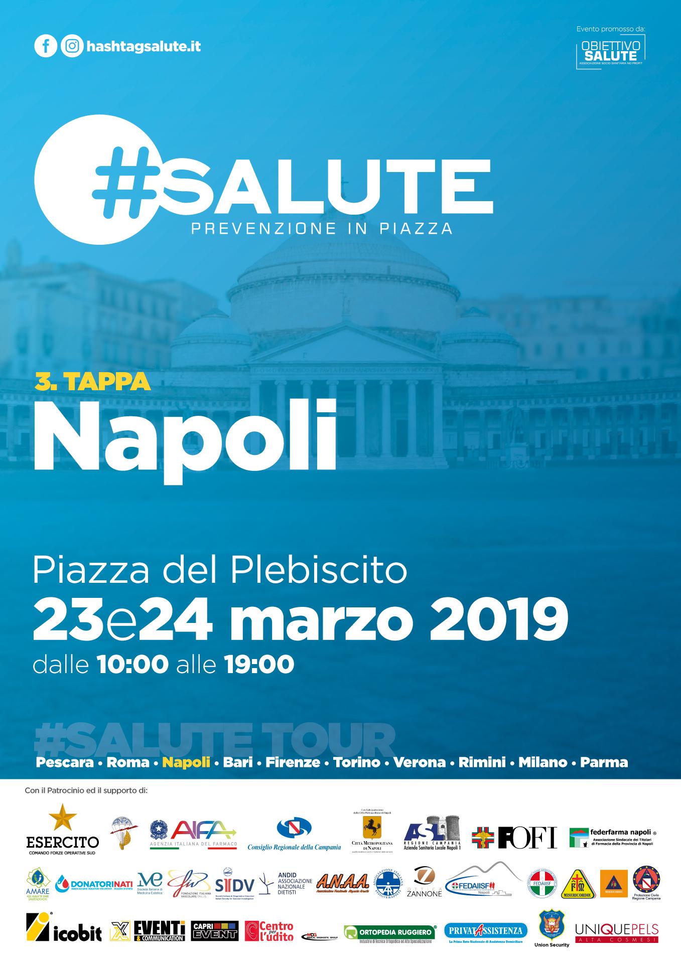 L'iniziativa #Salute fa tappa in Campania